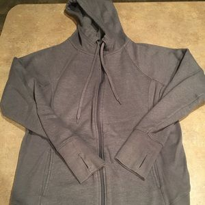 Women's Tek Gear hooded zip up size large